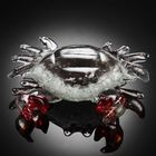 crab-red-claw-art-glass500 2
